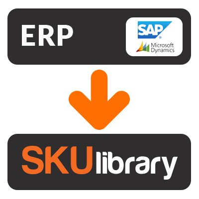 ERP to SKUlibrary